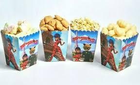 <b>Miraculous</b> Ladybug Party Popcorn Boxes Birthday Decorations Set ...