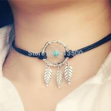 Who Sells Dream Catchers Amazing Americia Hot Sell Dream Catcher Necklace Totally Handmade Alloy