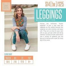 Lularoe Tc2 Size Chart Lularoe Leggings Solid Prints Floral Tc 10 00 Picclick