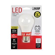 60 Watt 12 Volt Light Bulb Jejco Case Of 3 Feit Electric 12 Volt A19 E26 Medium