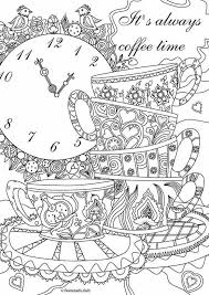 Coffee Cup Coloring Pages Teacup Coloring Pages Printable Cup Page