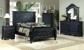 Antique Black Bedroom Furniture