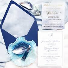Jacqueline And Gannon S Montauk New York Wedding Invitations