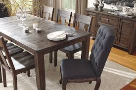 dark wood dining room sets beautiful rustic solid oak extending dining table