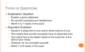 history structured essay questions essay 5 types of questions