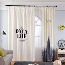 bedroom curtain designs. Single Panels Digital Printing 3d Curtains For Living Room Nordic Style White Modern Curtain Designs Bedroom