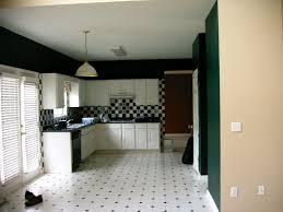 Black And White Flooring Modern Farmhouse Kitchen Gray Tile Floors White Cabinets White