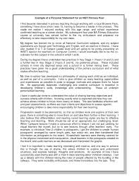 Example Of Personal Statement For Resume Personal Statement Resume Example Interesting For Sample With 10