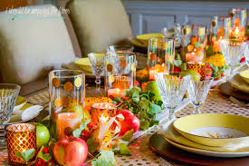 fall dining table decor ideas i