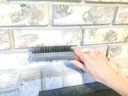 cleaning brick fireplaces paint your brick fireplace in two easy steps the quick and easy way cleaning brick fireplaces