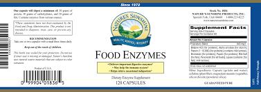 food enzymes 120 caps 1836