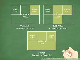 image titled measure commercial square footage step 1