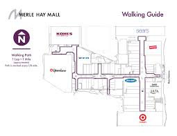 Shopping Mall Design Guide Walking Guide Merle Hay Mall
