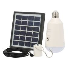 Solar Powered Led Light Bulb Best 7w E27 Rechargeable Solar Powered Led Light 1 Sale Online Shopping Cafago Com