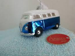 Christbaumschmuck Weihnachtsschmuck Auto Vw Bulli T1 Blau