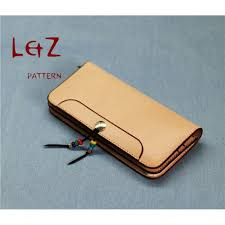 long wallet patterns pdf ccd 29 lzpattern design hand stitched leather leathercraft tools leather patterns