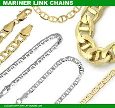 mariner link chain necklaces