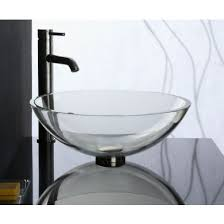 clear vessel sink. Simple Clear With Clear Vessel Sink I