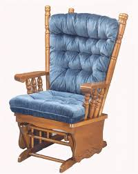 dazzling design glider rocking chair wooden rocker cushion for in plans 18 used chairs nursery