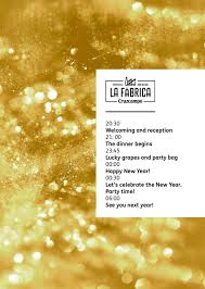New Year's Eve 2018: Live Your New Year's Eve Dinner at La Fábrica