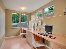 smart use of space in the home office basement office design