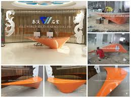 office reception counter. office reception counter design small receptionist curved