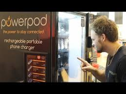 Powerpod Vending Machine Gorgeous POWERPOD Portable Phone Charger Vending Machine Review AllMir