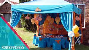 outdoor birthday party decorating ideas