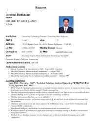Best Resume Samples In Malaysia Information Security Engineer