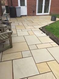 patio slabs. Mint Sawn Smooth Paving Patio Slabs