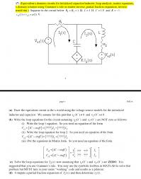 cute equivalent s circuits for initialized capac inductor discharge equation db b large size