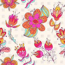 Floral Pattern Wallpaper Simple Decorating