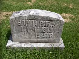 Sophia Parks (Unknown-1926) - Find A Grave Memorial
