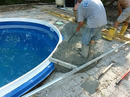 why is cantilevered concrete on a fiberglass pool so important milwaukee