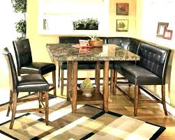 s credible booth style dining table set kitchen cabinets