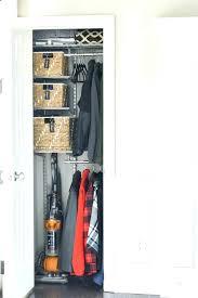 coat closet storage no ideas organize into diy shelves