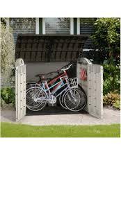 Store It Out Ultra Wood Effect Barrel Plastic Bike Store | Departments |  DIY at B&Q