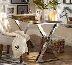 chrome office desk. Glass Home Office Desks Foter Throughout And Chrome Desk Idea 6