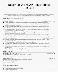 Restaurant Owner Resume Sample Free Template Resume Examples For
