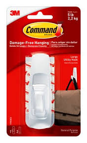 Command Strip Coat Rack Command™ Large Utility Hook 73