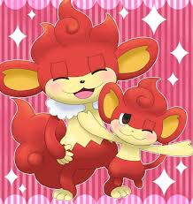 Simisear Evolution Chart Pansear Simisear 513 514 Evolution Fire Type Pokemon