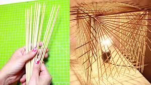 do it yourself lighting ideas. DIY: How To Turn Sticks Into A Decorative Lamp - Do It Yourself Lighting Ideas