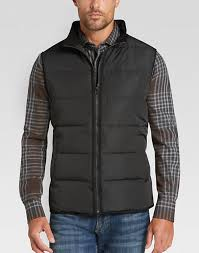 Pronto Uomo Black & Gray Modern Fit Quilted Vest - Men's | Men's ... & Pronto Uomo Black & Gray Modern Fit Quilted Vest - Mens Home - Men's  Wearhouse Adamdwight.com