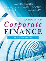 14 Corporate Finance Theory And Practice 2Nd Vernimemen |Authorstream