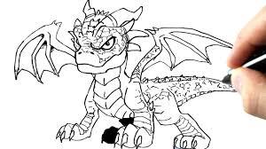 Comment Dessiner Un Dragon Tutoriel Youtube