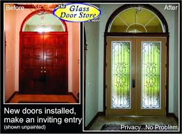 install entry door knob. repair front door lock replacing exterior sill plate wrought iron glass inserts added fiberglass doors home install entry knob r