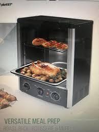nutrichef pkrt97 countertop rotisserie oven