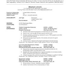Government Job Resume Endearing Sample Federal Job Resume Format With Cover Letter For 95