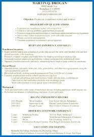 Working Skills Resume General Resume Skills Examples Skills Resume ...