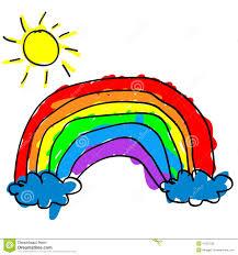 Arc En Ciel D Enfant Illustration De Vecteur Illustration Du Enfant
